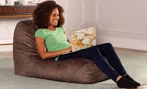 Emerson Dorm Room Bean Bag Lounge Chair | Jaxx Bean Bags