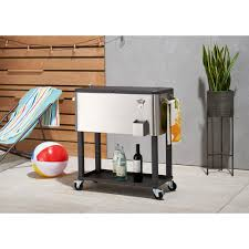 Coolers - Tailgating - The Home Depot Patio Cooler Stand Project 2 Patios Cabin And Lakes 11 Best Beverage Coolers For Summer 2017 Reviews Of Large Kruses Workshop Party Table With Built In Beerwine Ice How To Build A Wood Deck Fox Hollow Cottage Diy Your Backyard Wheelbarrow Foil Smoker Outdoor Decorations Beer Wooden Plans Home Decoration 25 Unique Cooler Ideas On Pinterest Diy Chest Man Cave Backyard Our Preppy Lounge Area Thoughtful Place