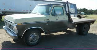 100 1975 Ford Truck For Sale F250 Ranger Flatbed Pickup Truck Item M9766 SO