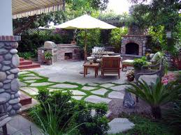 Backyard Patio Decorating Ideas by Landscape Design Back Patio Ideas Pictures With Outdoor Kitchen