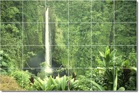 waterfalls photo wall tile mural 26 3d waterfall bathroom tiles tsc