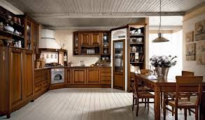 aran etrusca design landhaus küche nussbaum antik
