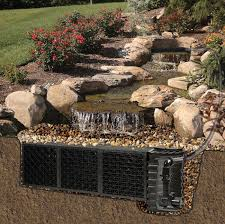 Aquascape Patio Pond Canada by Splendid Pond Free Waterfall Oudoor Garden Design In Canada