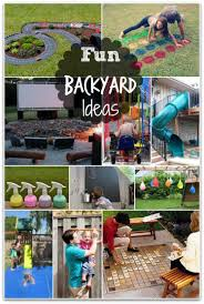 Fun Backyard Ideas - These DIY Ideas Will Make Summertime A Blast ... Backyard Landscaping Ideas Diy Best 25 Diy Backyard Ideas On Pinterest Makeover Garden Garden Projects Cheap Cool Landscape 16 Amazing Patio Decoration Style Outdoor Cedar Wood X Gazebo With Alinum Makeover On A Budget For Small Office Plans Designs Shed Incridible At Before And Design Your Fantastic Home