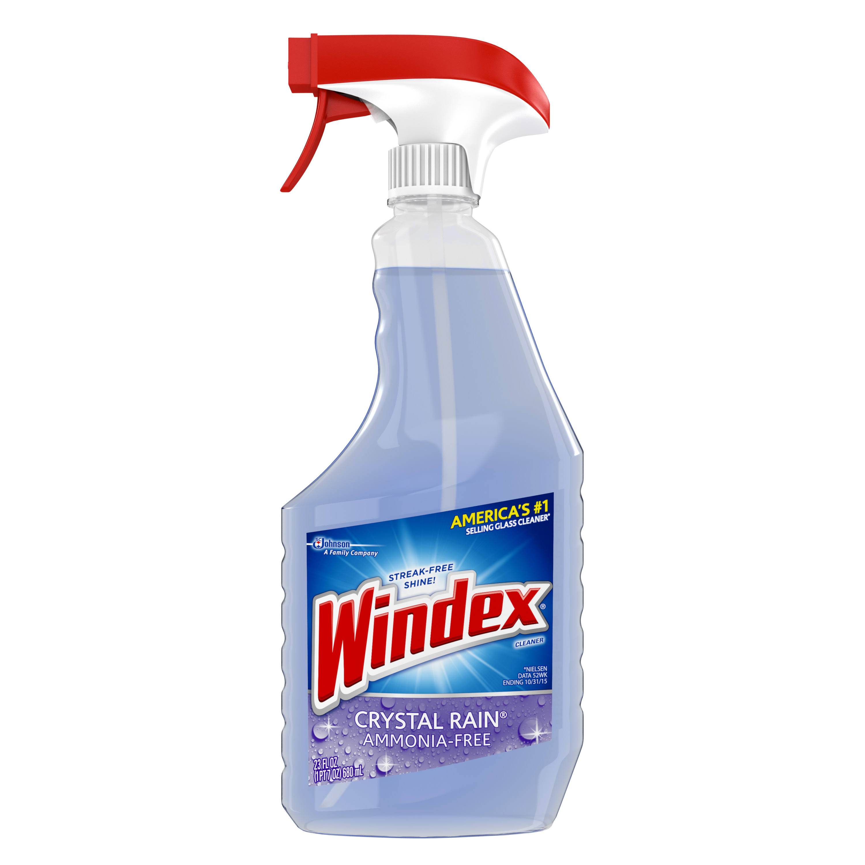 Windex Crystal Rain Glass Cleaner - 23oz