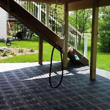 staylock outdoor rubber pvc deck tiles
