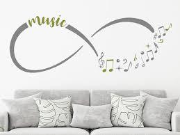 wandtattoo infinity für musikliebhaber wandtattoo de