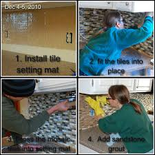 Simplemat Tile Setting Mat by Live Laugh U0026 Love Lindgren Style Our 3 Day Kitchen Face Lift