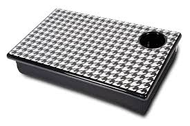 amazon com room it up houndstooth lap desk toys games