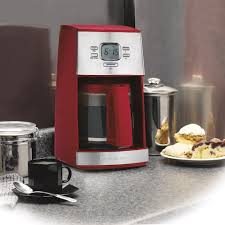 Hamilton Beach Red Ensemble Programmable 12 Cup Coffee Maker