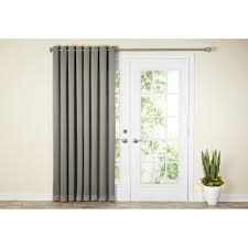 Door Curtain Panels Target by Curtains Patio Door Curtains Grommet Top Efficiency Sliding