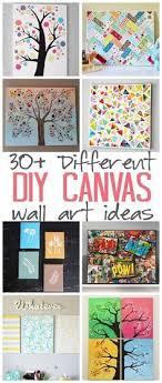 DIY Canvas Wall Art Ideas 30 Tutorials For Adults