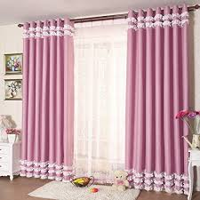 Light Pink Ruffle Blackout Curtains by Pink Ruffle Blackout Curtains Inspiration Mellanie Design