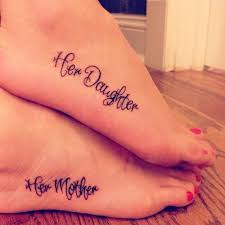 Mother And Daughter Tattoos