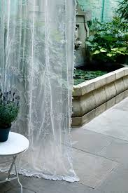 Pottery Barn Curtains Sheers by Our Amelia Sheer Curtain Panel In A Custom All White Colour Way
