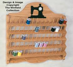 Sewing Cabinet Woodworking Plans by Thread Rack Wood Project Plan Deadea Pinterest Wood Projects