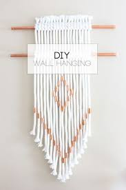 DIY Rope Copper Wall Hanging