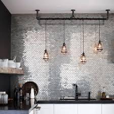 15 ideas of industrial kitchen lighting pendants