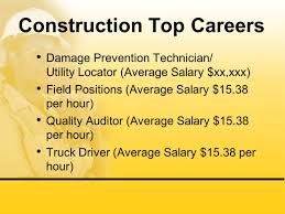 100 Average Truck Driver Salary Building Awareness Of Careers In Construction Energy And