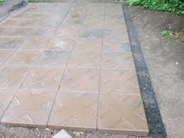 Rubber Paver Tiles Home Depot by Another Pic For Home Depot Seeds Review I Used Sakrete Ez Paver