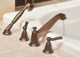 Moen TS925AZ Rothbury Two Handle Low Arc Roman Tub Faucet and Hand