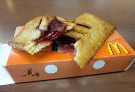 Mcdonalds Pumpkin Pie by Mcdonalds Strawberry And Cream Pie
