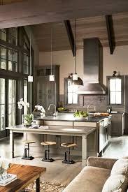 Mountain Kitchen Interior Landhausstil Küche 53 Sensationally Rustic Kitchens In Mountain Homes