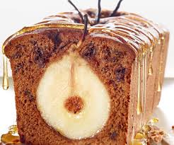 schokolade birnen cake
