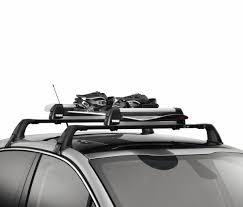 porte skis sur barres de toit 4 paires de skis ref 961514