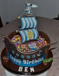 Jake And The Netherlands Pirate Birthday Cake