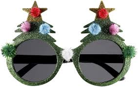 Christmas Tree Shop Return Policy by Amazon Com Forum Novelties Novelty Holiday Glasses Christmas