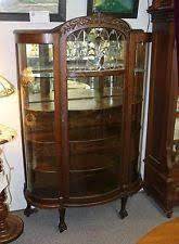 Antique Curio Cabinets 1900 1950