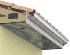 ideal pvc bardage finition toit