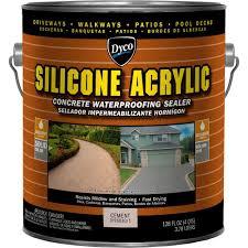 Seal Krete Floor Tex Home Depot by Rust Oleum 1 Gal Concrete Low Lustre Sealer 260432 The Home Depot