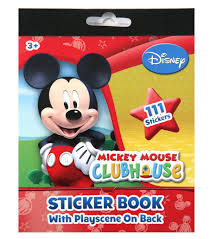 Mickey Mouse Bathroom Set Amazon by Amazon Com Mickey Mouse Sticker Book 111 Count Disney Toys U0026 Games