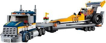 LEGO City Dragster Transporter 60151 « LEGO City « « LEGO Gaminiai ...