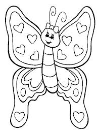 Free Coloring Pages Flowers And Butterflies Sommerfugl Fargeleggingstegninger Fargelegg