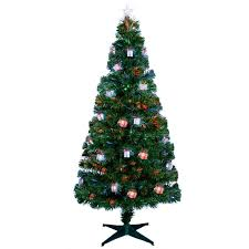 Fibre Optic Christmas Trees Uk by Premier Fibre Optic Led Lit Parcel Christmas Tree U2013 1 2m