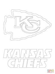 Kansas City Chiefs Logo Coloring Page | Free Printable Coloring ...