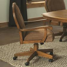 Easy Living Caster Swivel Arm Chair