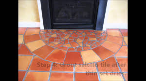 how to install saltillo mexican tile