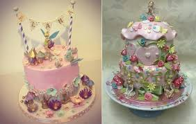 Flower Fairy Cakes By Dees Sweet Surprises Left And Lets Eat Cupcakes Right