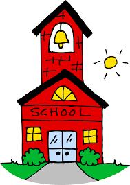 Cute School House Clipart Free Clip Art