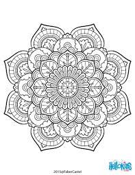 Mandala Art Deco Vintage Coloring Page