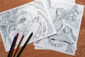 Blissful Belly Coloring Journal