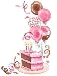 birthday confetti clip cake ideas clipart