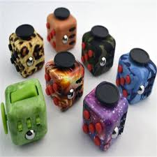 2017 Leopard Starry Sky Fidget Cube Toy The Worlds First American Decompression Anxiety Toys Upgraded Camouflage C1893