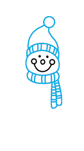 How To Draw A Snowman 2 Step 3