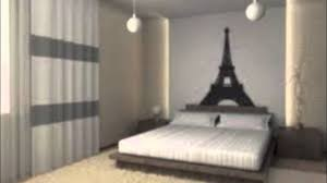 Teenage Paris Themed Bedrooms Youtube Bedroom Decor Full Size
