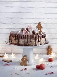 foodies weihnachtsbäckerei semi schoko kirsch torte